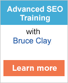 Advanced SEO Training with Bruce Clay