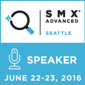 I am speaking at SMX Advanced - find out what I'm talking about here...