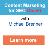 Content Marketing for SEO workshop with Michael Brenner