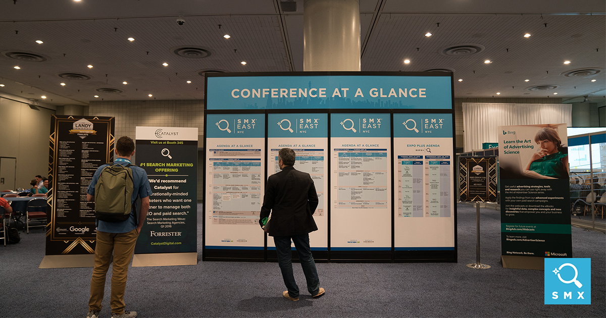 View the SMX East 2017 Conference Agenda Now