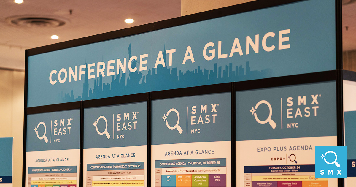 D Printing Exhibition Amp Conference : Seo sem agenda search marketing training smx east