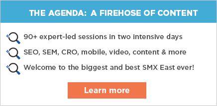 Check out the SMX East agenda