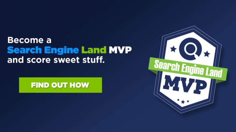 Become a Search Engine Land MVP and you could win a FREE ticket to SMX!